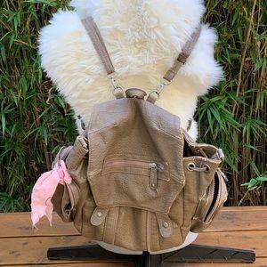 Free People Brown Backpack Bag